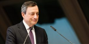 Mario Draghi speaks, a look at the week ahead
